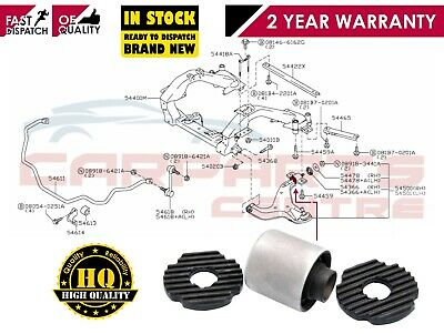 FOR NISSAN ELGRAND E51 FRONT LOWER WISHBONE SUSPENSION CONTROL ARM REAR BUSH
