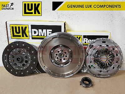 FOR HONDA CIVIC 2.2 CTDi GENUINE LUK DUAL MASS FLYWHEEL CLUTCH KIT 2006-2013 NEW