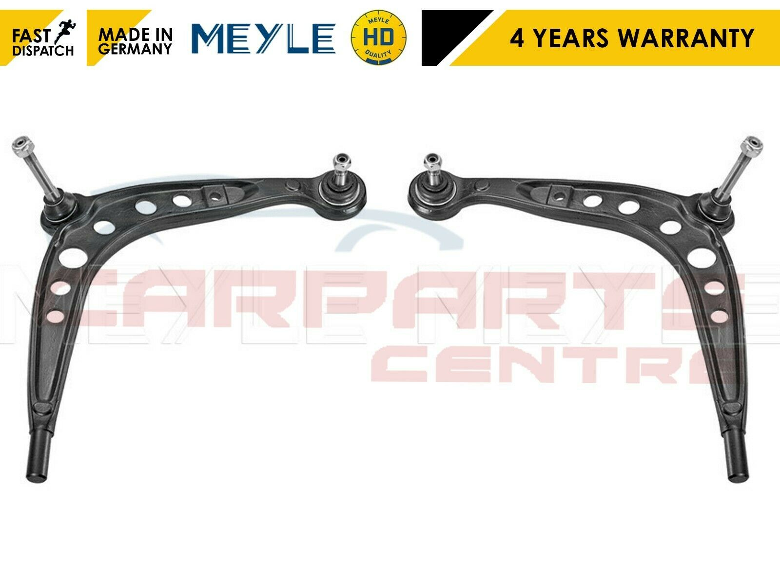 FOR VAUXHALL CORSA D FRONT LOWER WISHBONE ARMS TRACK ROD ENDS MEYLE HD LINKS 06