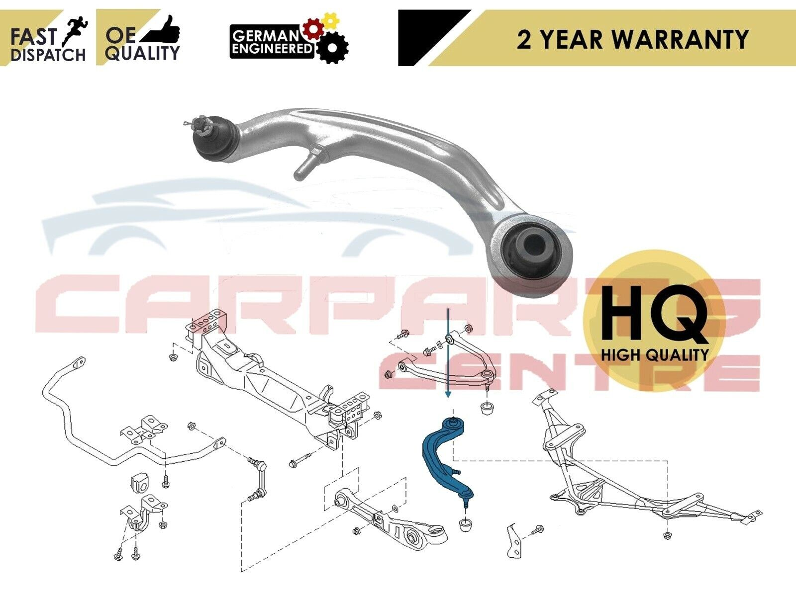 FOR NISSAN 350Z Z33 REAR UPPER LEFT RIGHT SUSPENSION WISHBONE CONTROL ARMS LINKS