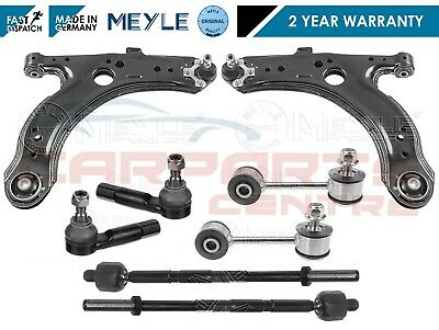 FOR GOLF MK4 97-04 FRONT SUSPENSION ARMS LINKS INNER OUTER RACK TIE ROD ENDS