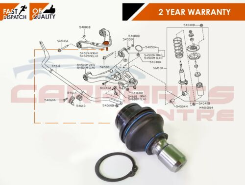 FOR NISSAN PATHFINDER R51 2005- REAR LOWER SUSPENSION ARM BALL JOINT BRAND NEW