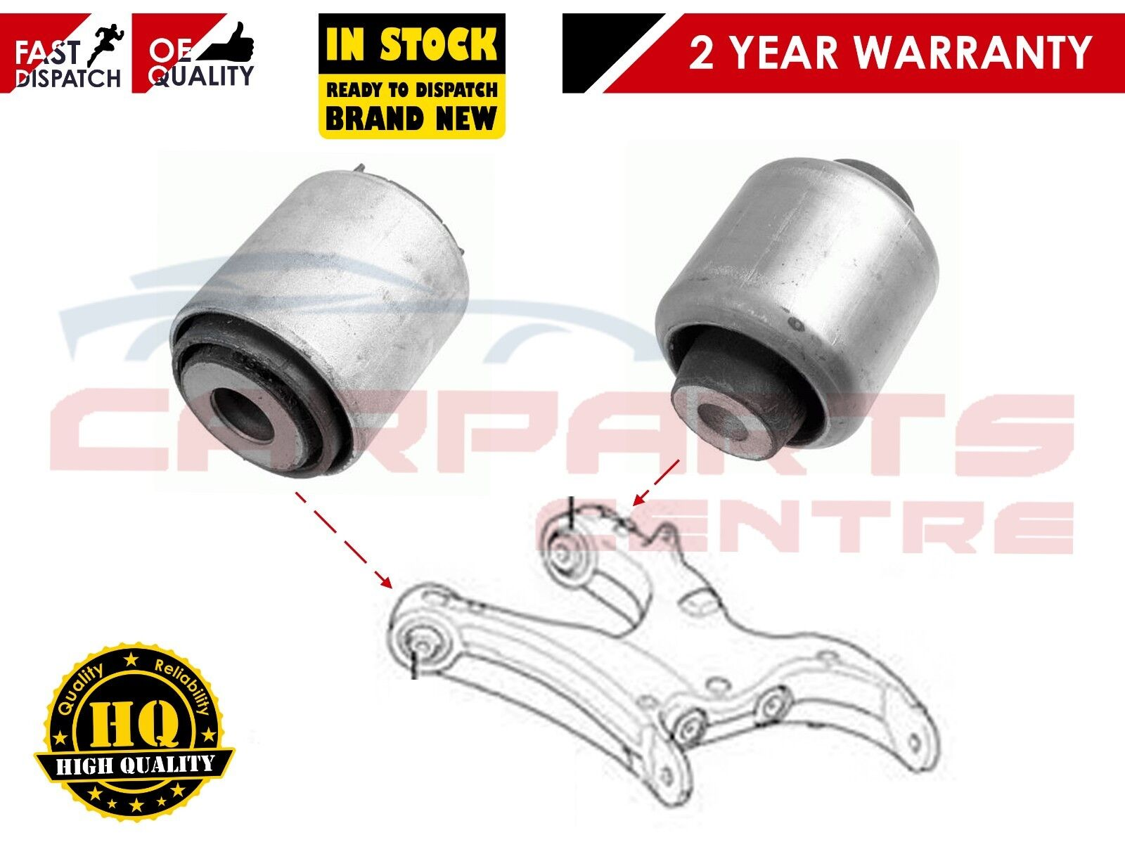CHRYSLER 300C REAR SUSPENSION TRAILING ARM BUSH ROSE JOINT REMOVAL INSTALL TOOL