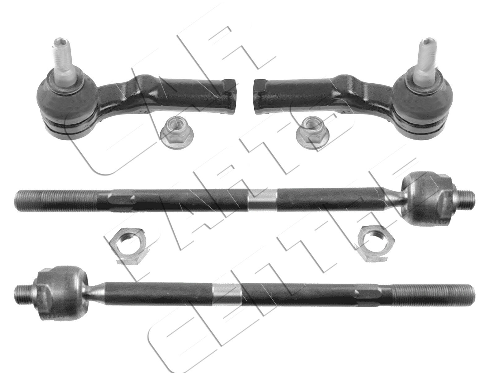 2 X INNER STEERING TIE TRACK ROD RACK ENDS FOR MAZDA 6 2008-2013 NEW 2x OUTER