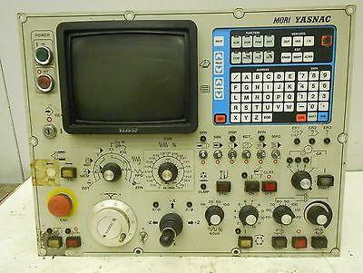 Mori Yasnac Cnc Control Panel Keypad Monitor 17477lr
