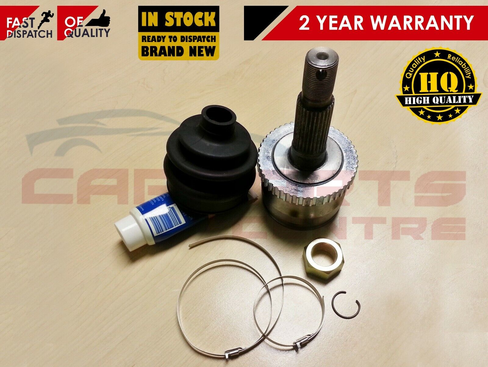 JEEP GRAND CHEROKEE 4.7 WJ WG FRONT PROPSHAFT CV JOINT END NEW