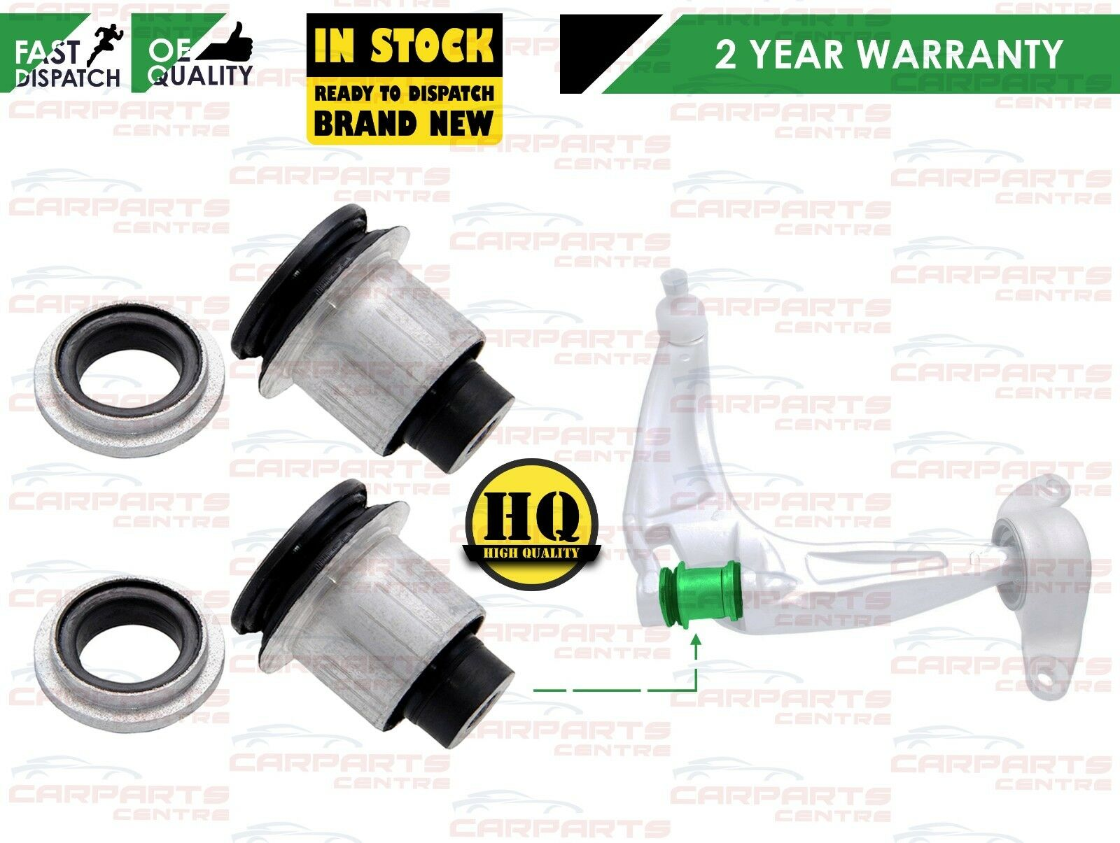 Buy Honda Civic Car Suspension Steering Bearings Bushings Bush 1997 Engine Mounts Diagram For 2005 Type S R Fn2 Front Lower Wishbone Control Arm Bushes