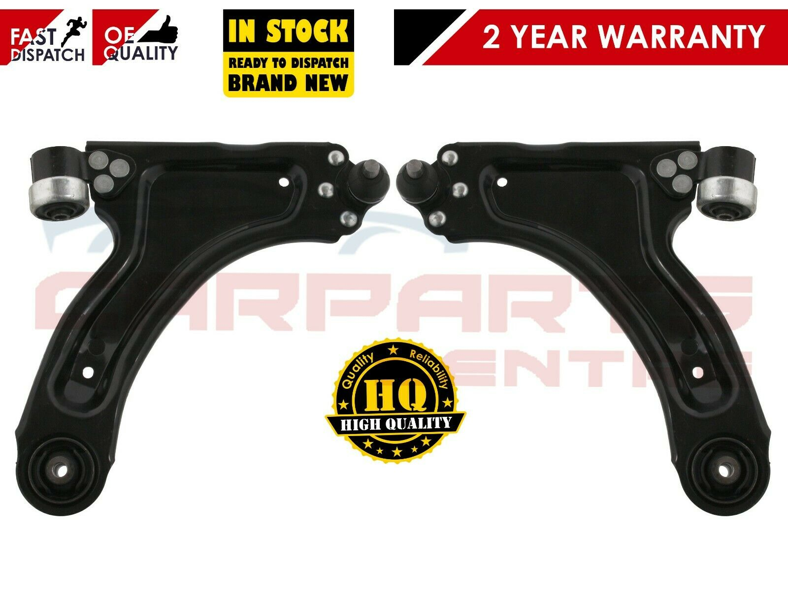FOR VAUXHALL CORSA C 1.0 1.2 1.4 1.6 1.3 1.7 CDTi LOWER WISHBONE SUSPENSION ARM
