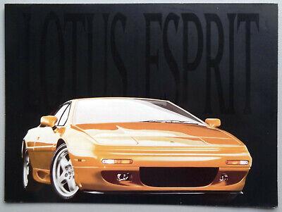 V15829 LOTUS ESPRIT S4 - DEPLIANT - NON DATE - 21x28 - USA GB