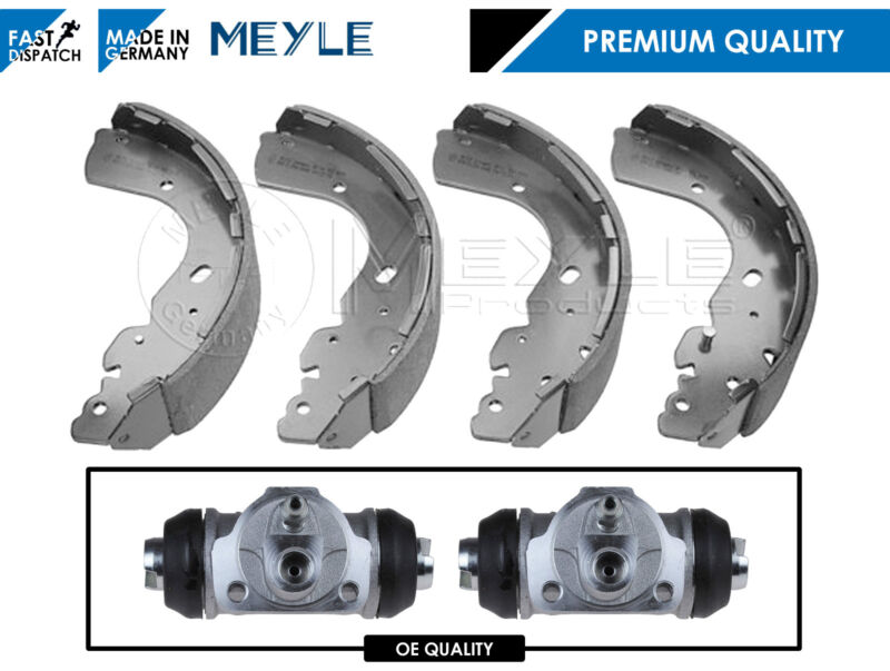 FOR NISSAN NAVARA 2.5 D40 REAR BRAKE SHOES WHEEL CYLINDER BRAND NEW OE QUALITY