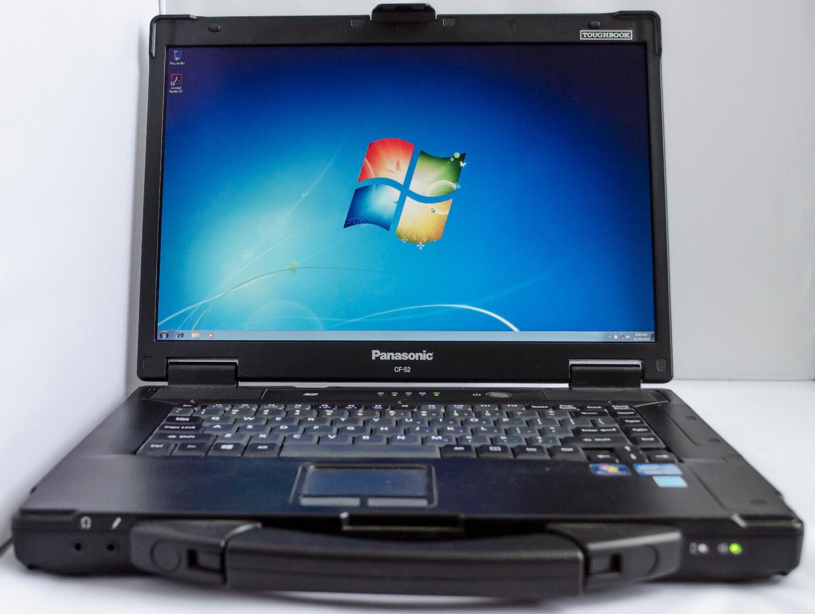 Panasonic Toughbook CF-52 MK3 i5-540M 4GB 240GB SSD ATI Radeon FullHD DVD WIFI