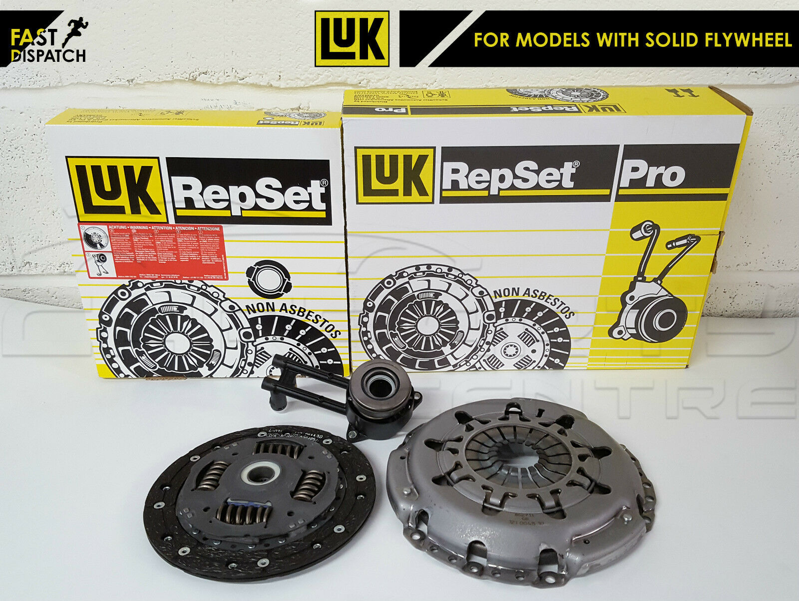 FORD MONDEO 2.2 ST TDCI  CLUTCH KIT  2 PCE