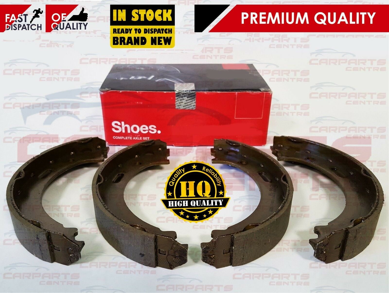 HAND BRAKE SHOES WITH FITTING KIT JEEP GRAND CHEROKEE WK WH 2005-2010
