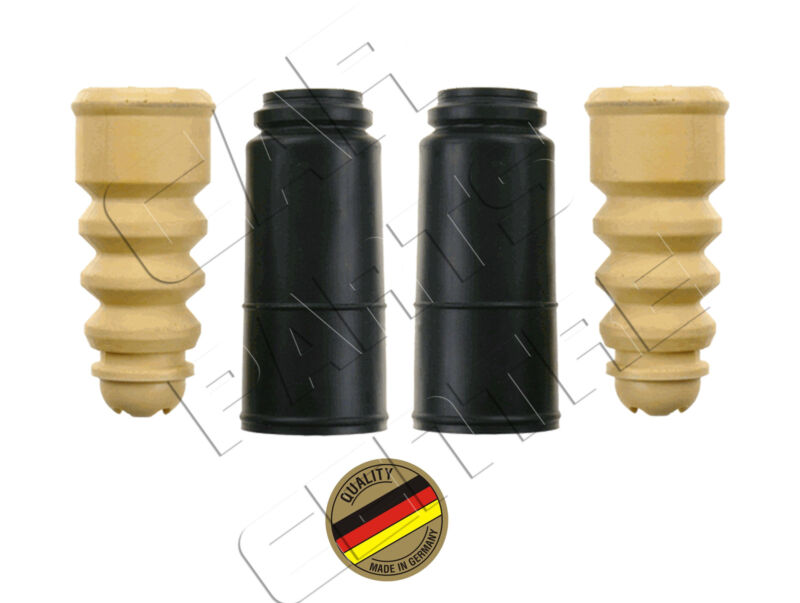 FOR PASSAT 1.8 1.9 TDi REAR SHOCK ABSORBER BUMP STOP DUST COVERS SET 98-05
