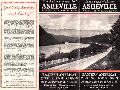 Asheville NC Circa 1930