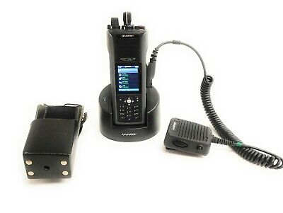 Harris Unity Xg-100p Multi-band Portable Radio Full Spectrum W Holster Charger