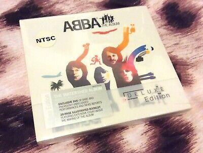 SEALED! DELUXE Edition ABBA The Album 1977 CD/DVD 15 track London America New!!