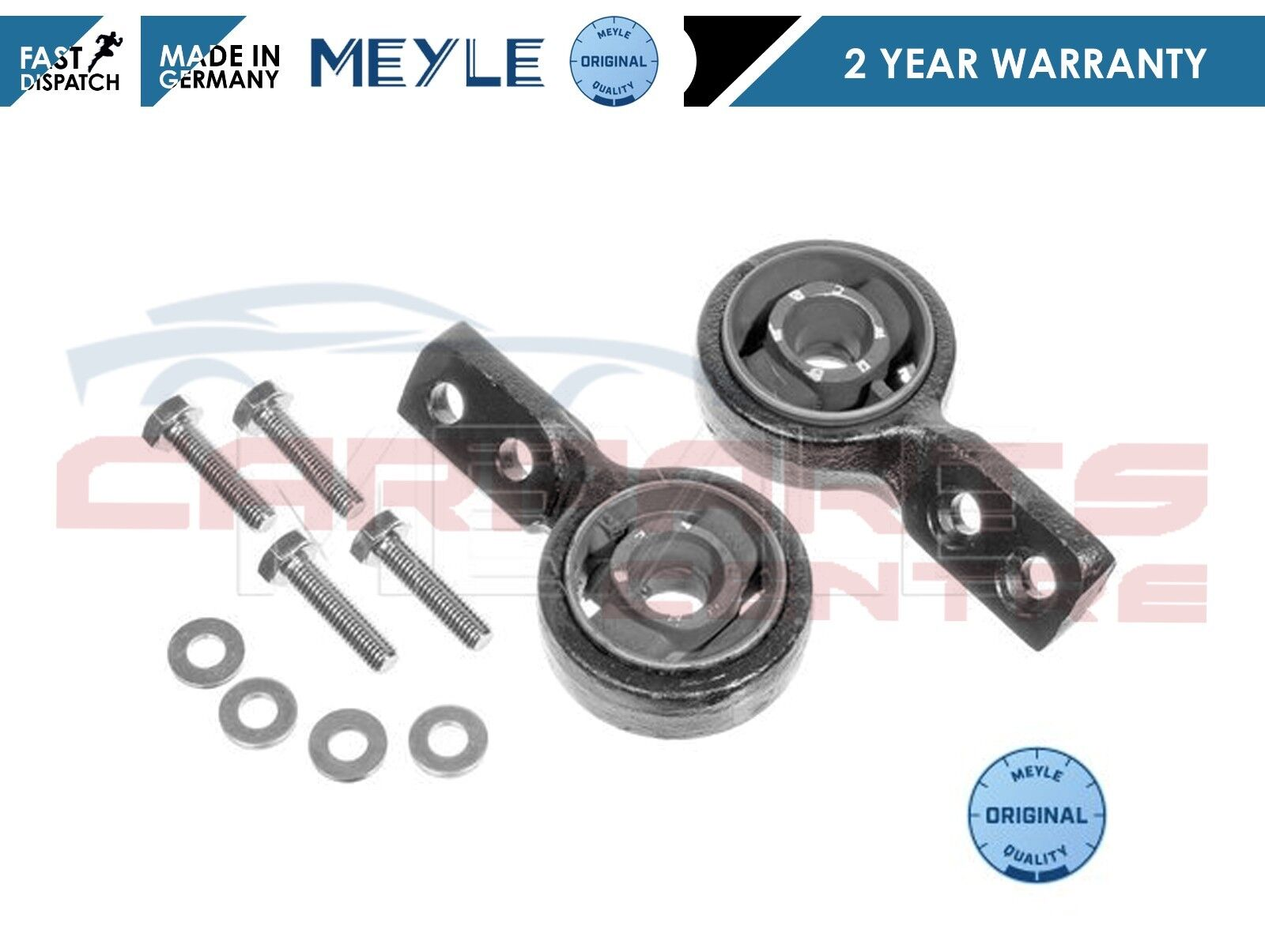 BMW 3 SERIES E30 FRONT LOWER WISHBONE ARMS BUSHES X 2