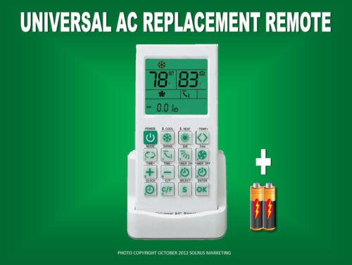 Mini-Split AC Remote For Trane,Fujitsu,Hitachi,Toshiba,Sanyo