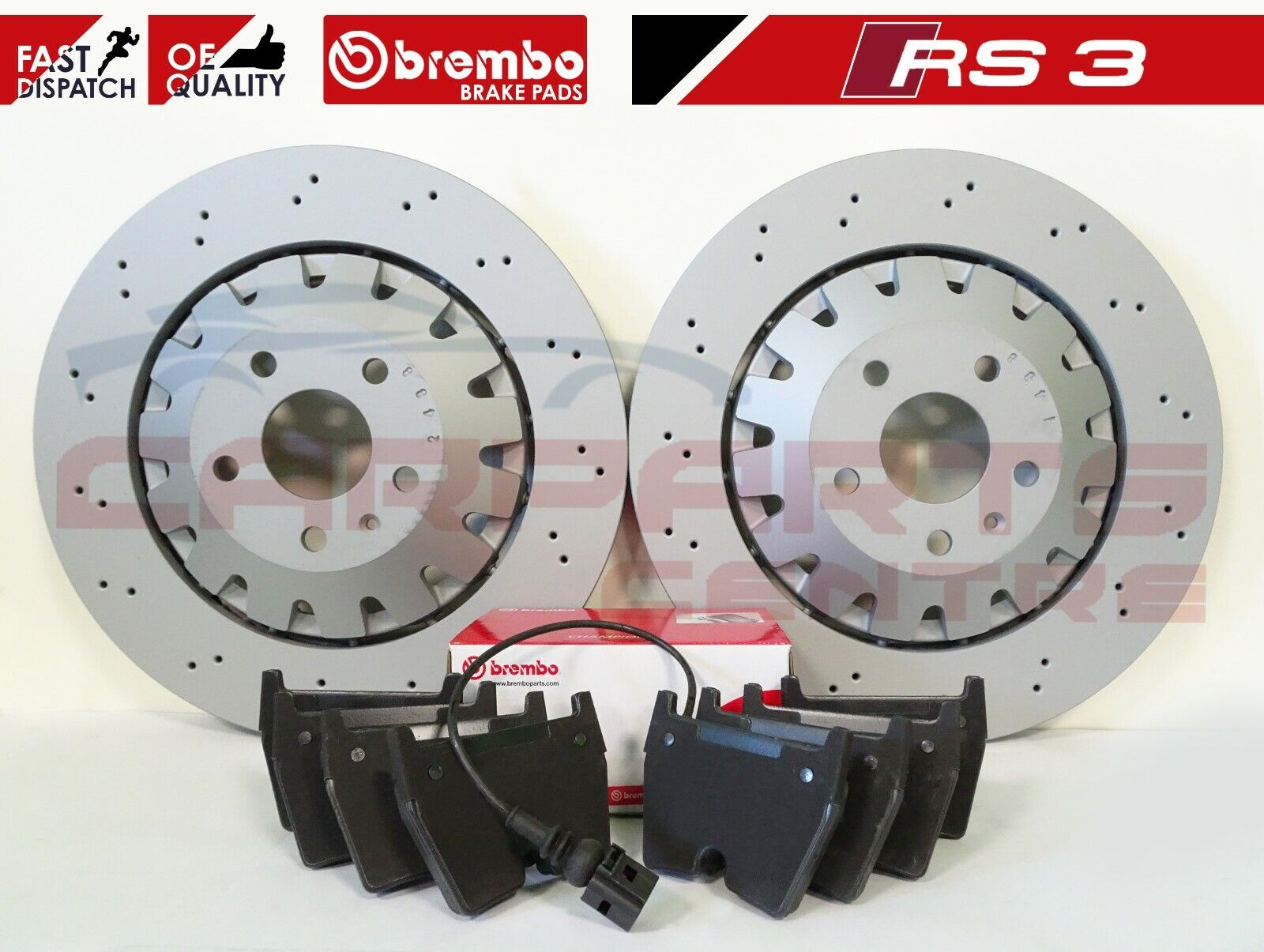 Pair and Pads Set for BMW 330 E46 3 ltr Rear Apec Brake Disc