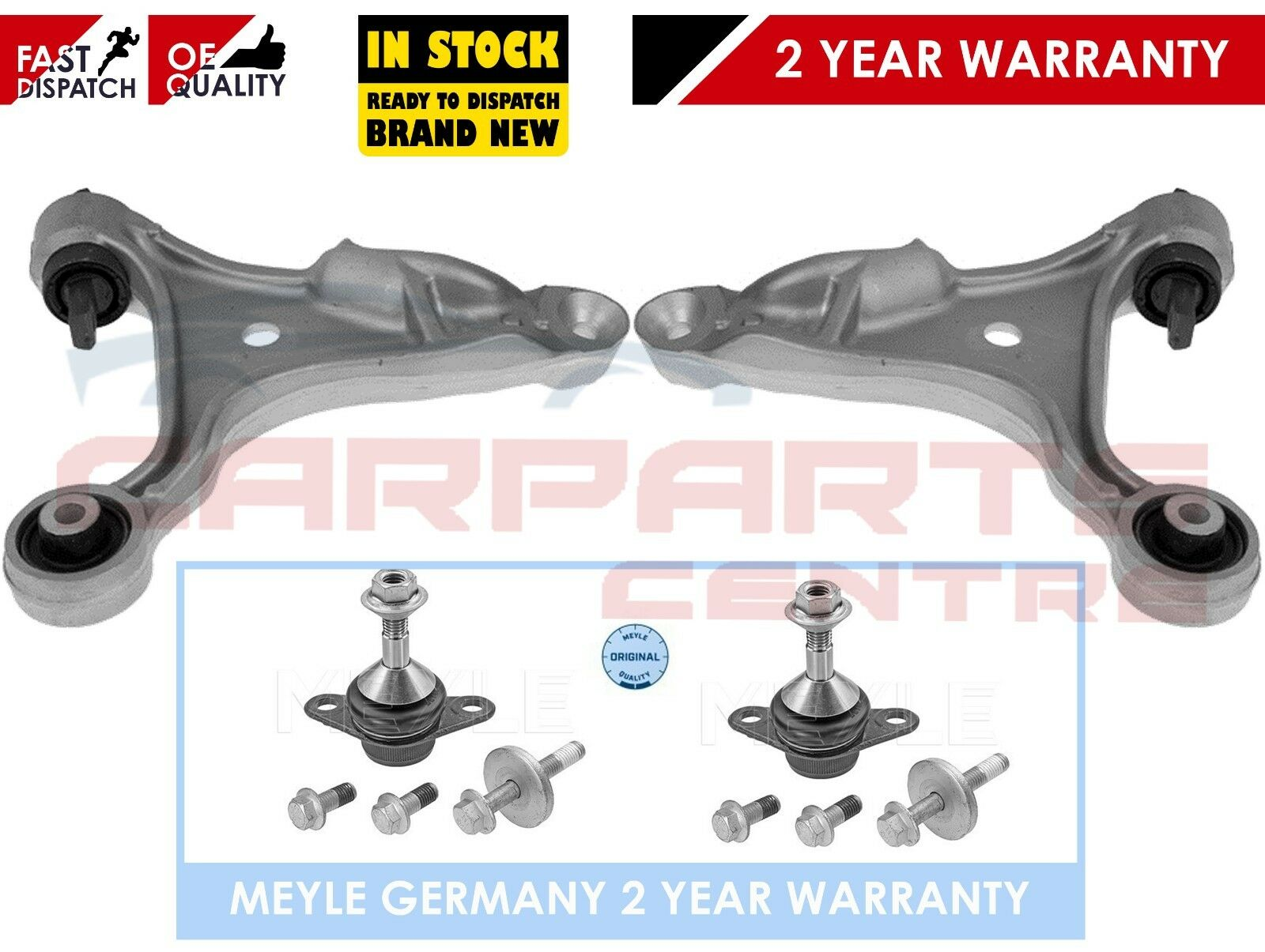 VOLVO S60 V70 TURBO TURBO DIESEL FRONT LOWER ARMS /& BALL JOINTS X 2 NEW
