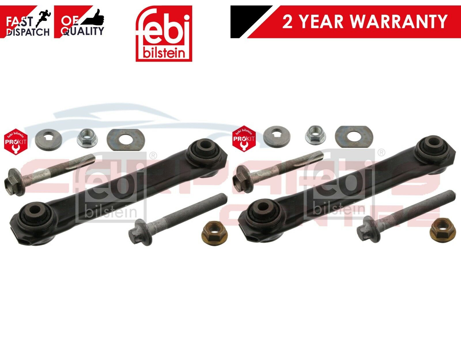 FOR VAUXHALL VECTRA C REAR AXLE LOWER BOTTOM WISHBONE CONTROL ARM BOLTS FIT KIT