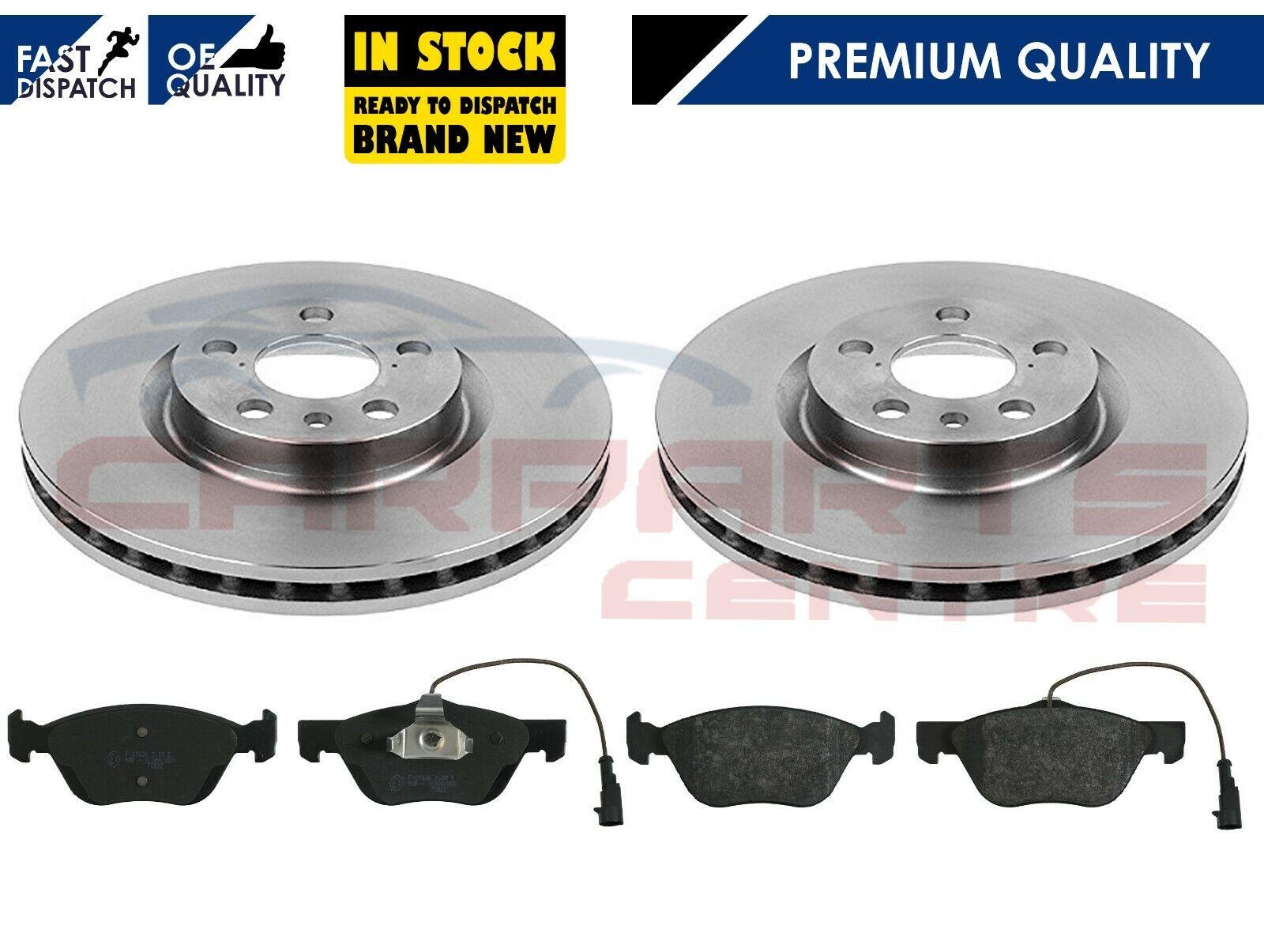 Alfa 156 2.0 Twinspark 16v Brake Discs Front Rear /& Pads