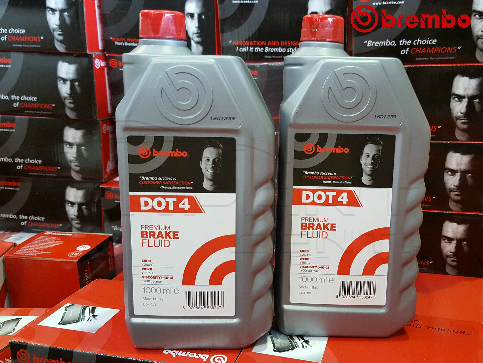 Details about BREMBO PREMIUM FULLY SYNTHETIC BRAKE And CLUTCH FLUID Dot 4  Dot4 1L 2L 1 2 Litre