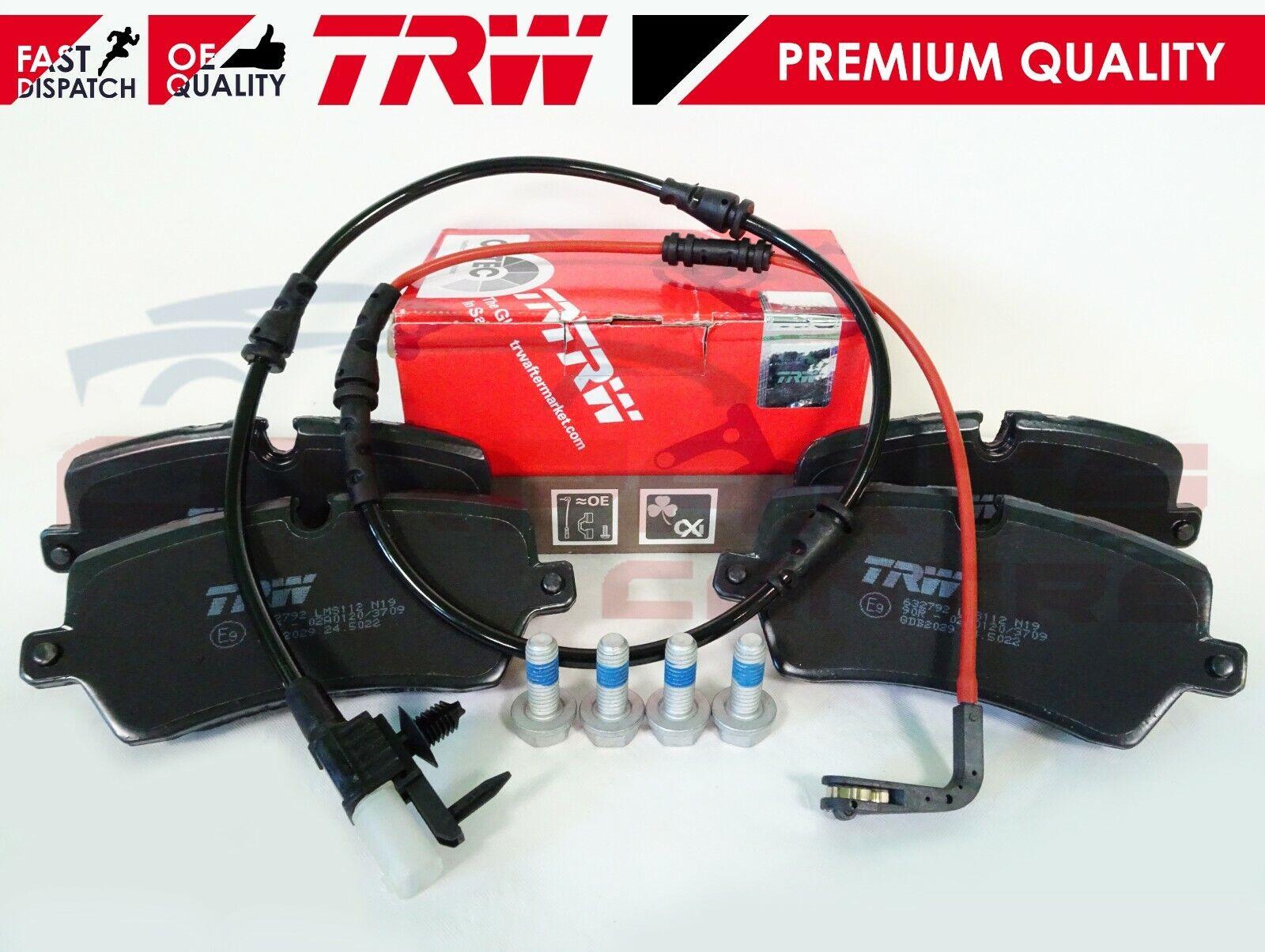 Fits Honda Accord MK7 2.2 Type-R Genuine TRW Rear Brake Pads Set