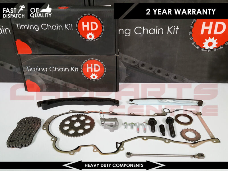 VAUXHALL ASTRA G H CORSA C D MERIVA 1.3 CDTi TIMING CHAIN GASKET SPROCKET KIT