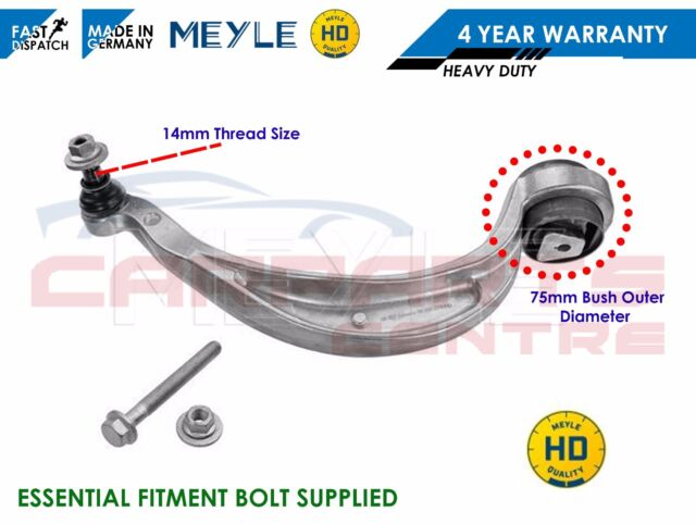 FOR AUDI A4 B8 FRONT LOWER AXLE REAR LEFT SUSPENSION WISHBONE TRACK CONTROL ARM