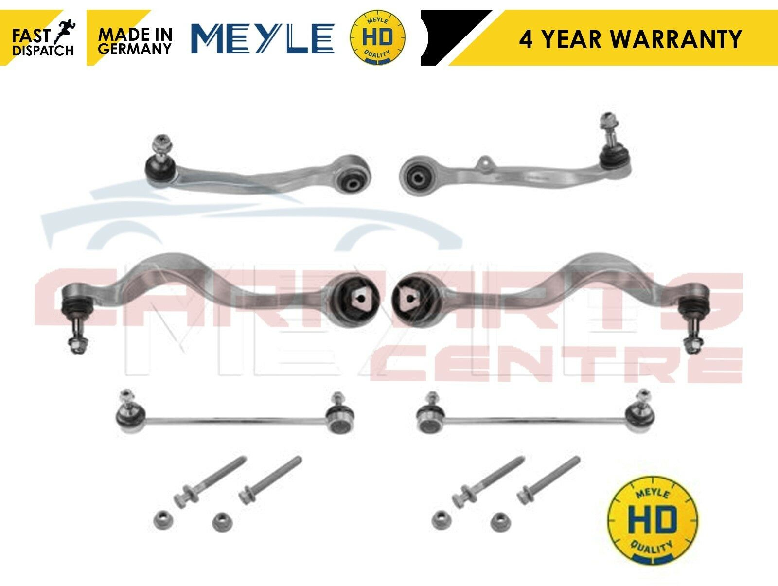 FOR BMW E60 E61 FRONT TRACK CONTROL ARMS LINKS KIT