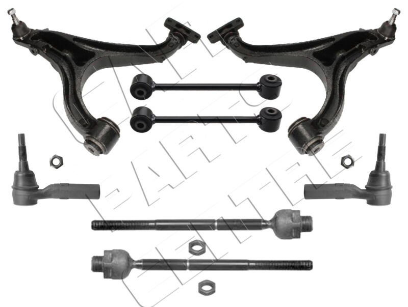 FOR JEEP COMMANDER XH XK 05- FRONT LOWER CONTROL ARMS LINKS INNER OUTER ROD ENDS