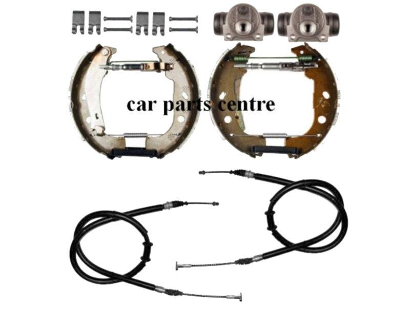 FOR FIAT MULTIPLA REAR BRAKE CABLES SHOES ADJUSTER WHEEL CYLINDER FITTING KIT