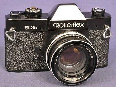 Rollei SL35 Black / Spiegelreflex mit SL Planar 1,8 x 50 mm / Singapore