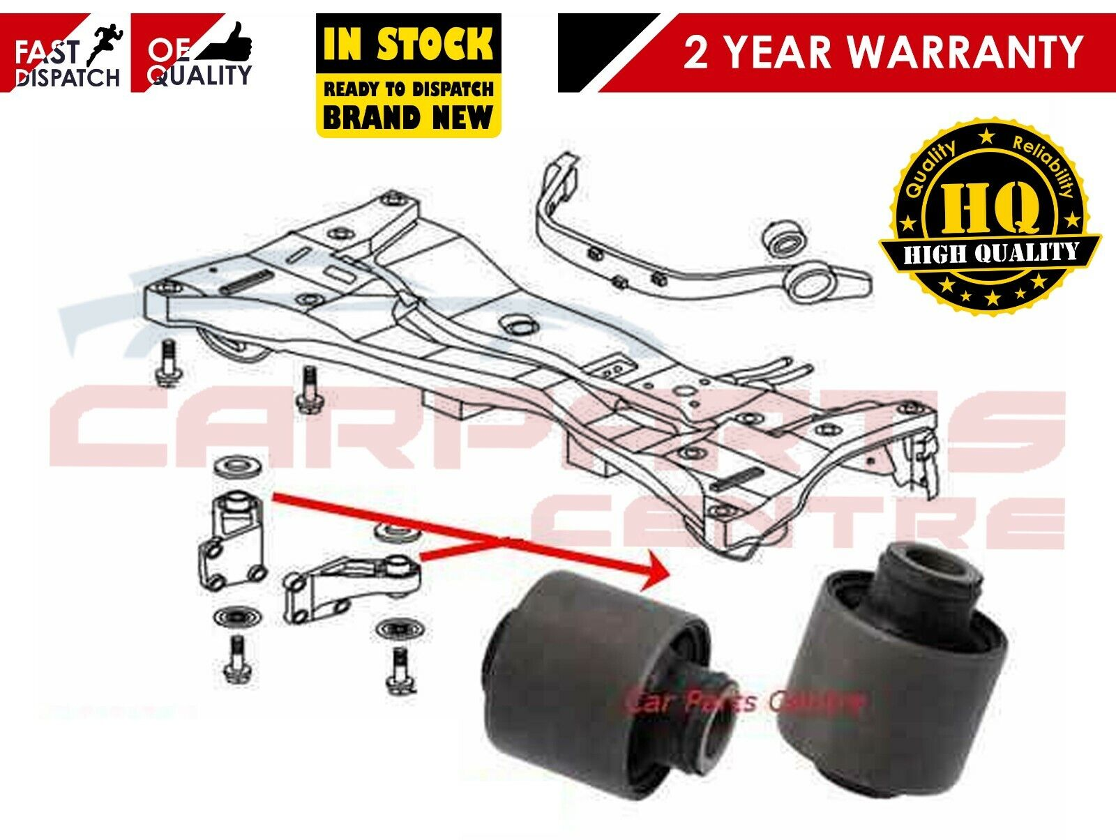 CAN Left Differential Mount For 2004 Mitsubishi Outlander