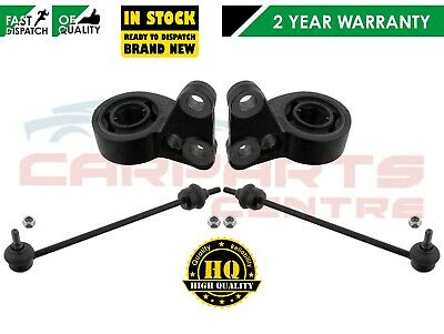 FOR ROVER 75 FRONT LOWER SUSPENSION WISHBONE ARM REAR BUSHES FRONT LINK LINKS