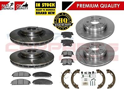 CHRYSLER 300C 05-18 3.0crd 2 X ATE PremiumOne SLOTTED FRONT BRAKE DISC 345mm