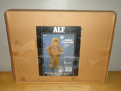Vintage 1988 Collegeville ALF Adult Size Costume -- Full Body Furry Acrylic Suit