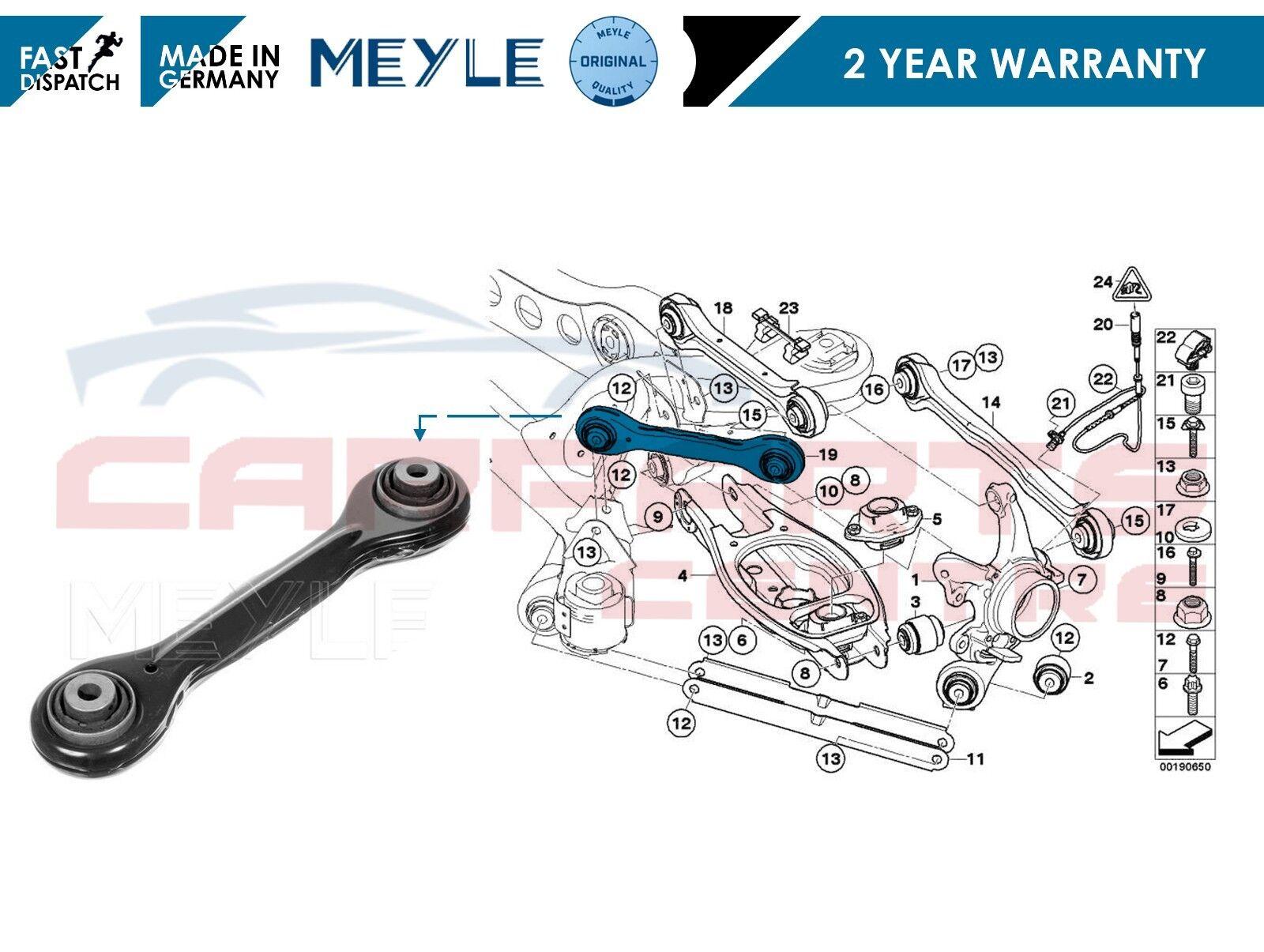 Fits ford s max 2007 /> avant wishbone bras arrière bush X1 o.e qualité