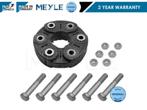 BMW F10 FRONT PROPSHAFT MOUNTING COUPLING DOUGHNUT DONUT MEYLE GERMANY BOLTS KIT