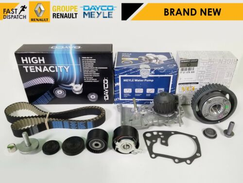 RENAULT MEGANE MK2 MK3 1.6 16V OE DEPHASER PULLEY TIMING CAM BELT KIT WATER PUMP