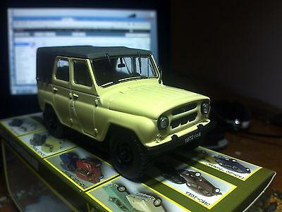 1:43 UAZ-469B Diecast Model USSR SUV 1971 Ivory , used for sale  Shipping to United States