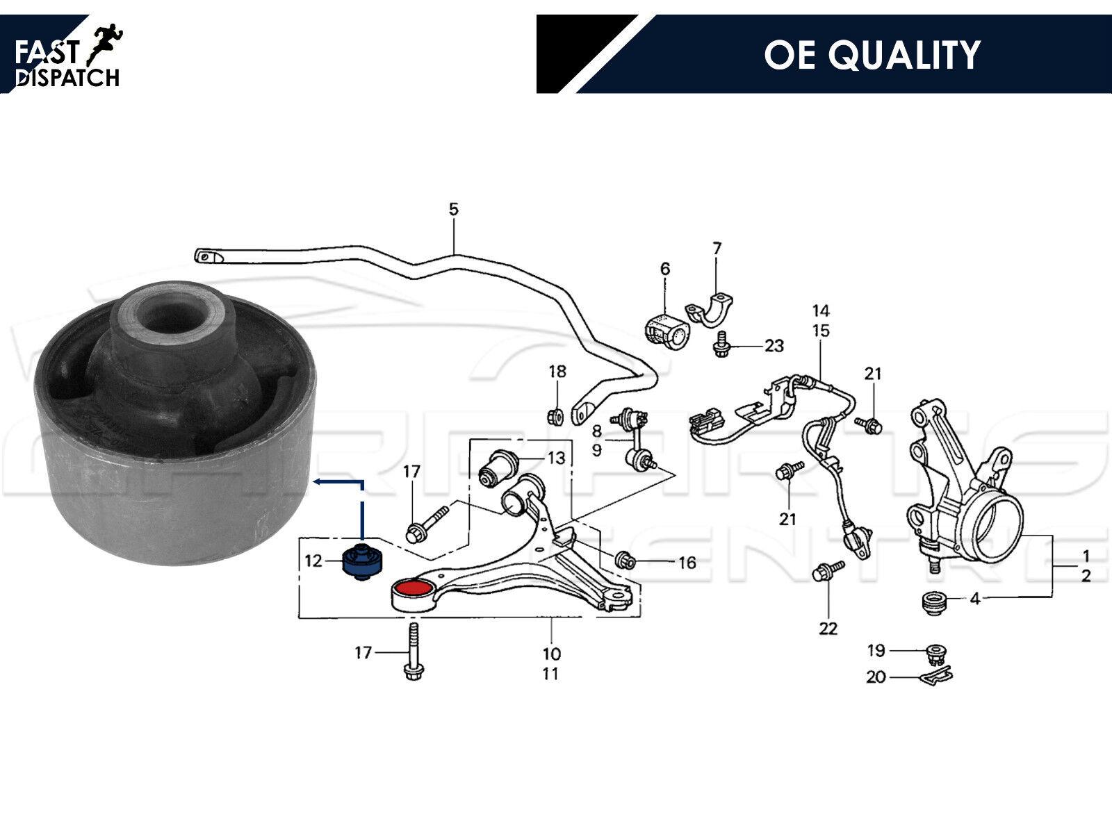 For Honda Civic Crv Frv Stream Front Lower Suspension