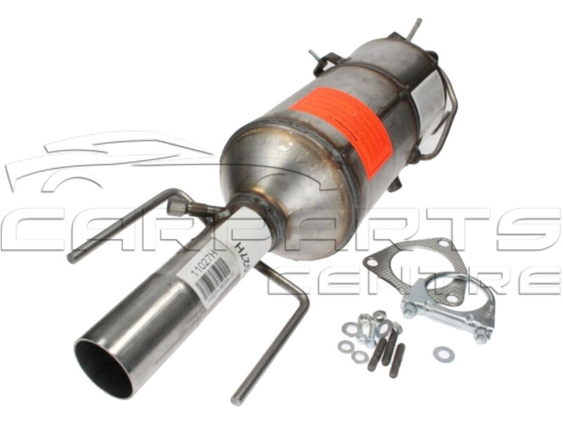 FOR SAAB 9-3 1.9 TiD 04- 120 150 BHP DPF DIESEL PARTICULATE FILTER WITH FITTINGS