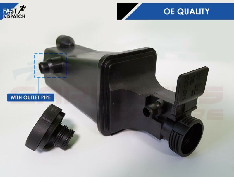 FOR BMW E46 X5 E53 COOLANT EXPANSION COOLANT TANK & OUTLET 17117573781 WITH CAP