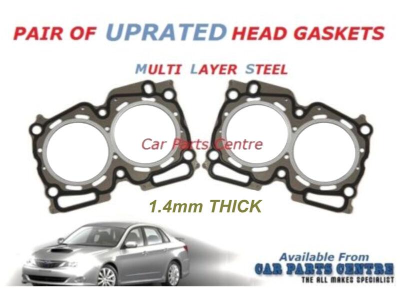 FOR IMPREZA 2.0 TURBO 1.4mm UPRATED MLS STEEL CYLINDER HEAD GASKETS EJ20 1 5 7