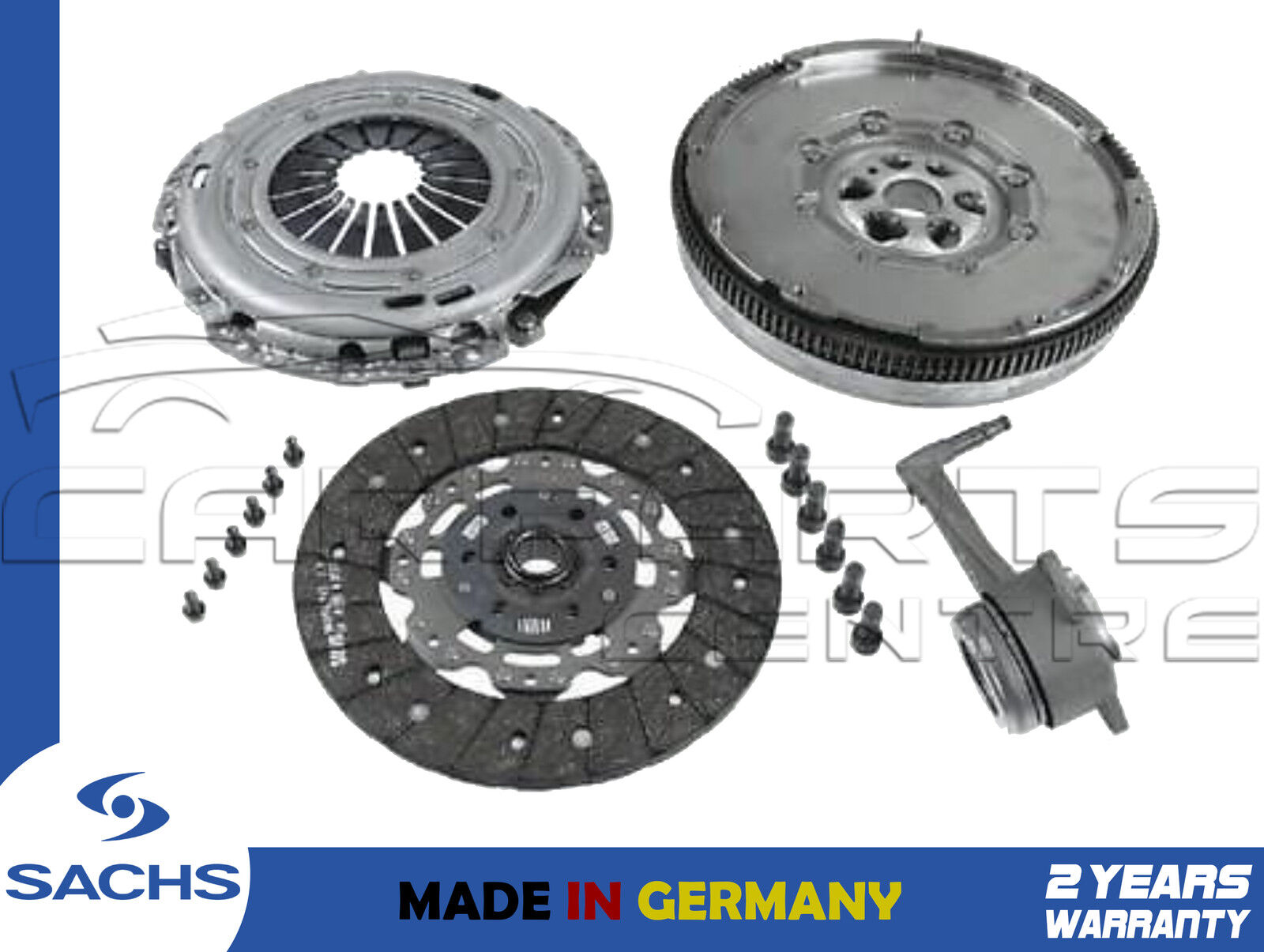 SOLID MASS FLYWHEEL /& CLUTCH KIT AND BOLTS FOR AN AUDI A3 1.9 TDI