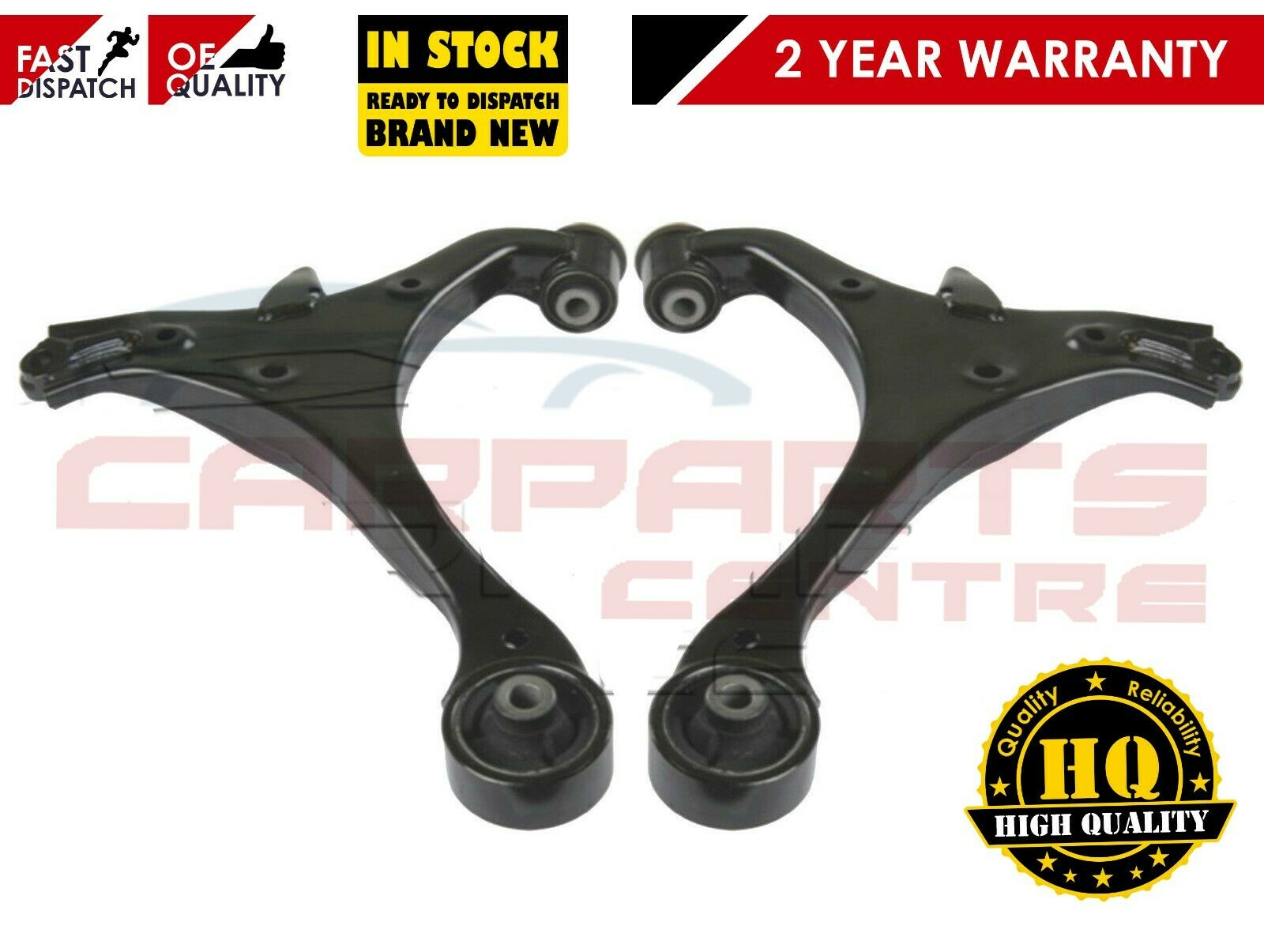 HONDA CIVIC 01-06 FRONT 2 x LOWER SUSPENSION WISHBONE ARMS 1.3 1.4 1.6 1.7