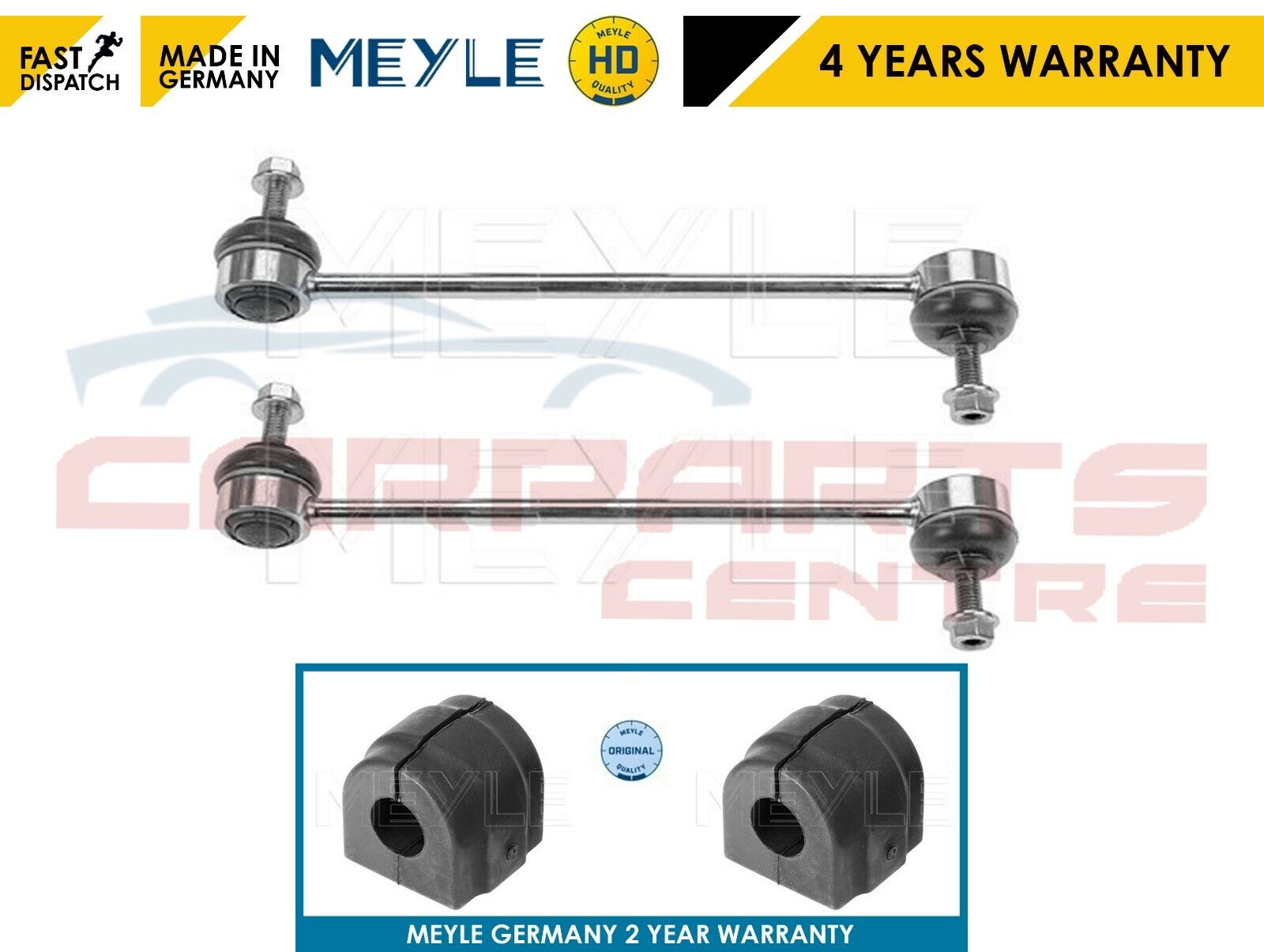 2 FRONT SWAY BAR LINKS FOR BMW E46 98-05 ALL TYPE